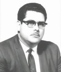 Pastor Efraím Valverde Sr. Presidiendo como Obispo Presidente en la Asamblea Apostólica de la Fe en Cristo Jesus, (1966-1970)